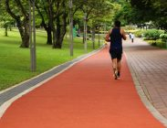 Jogging Track on Ground